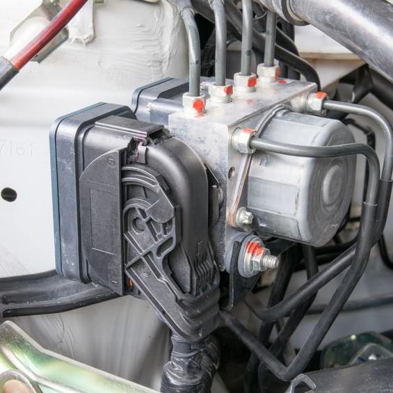 Anti lock braking mechanism