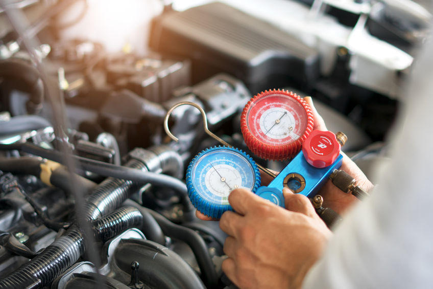 Have Your Refrigerant Levels Checked by a Mechanic!